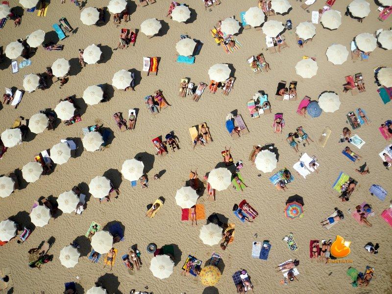 KAP en la Playa de Barcelona