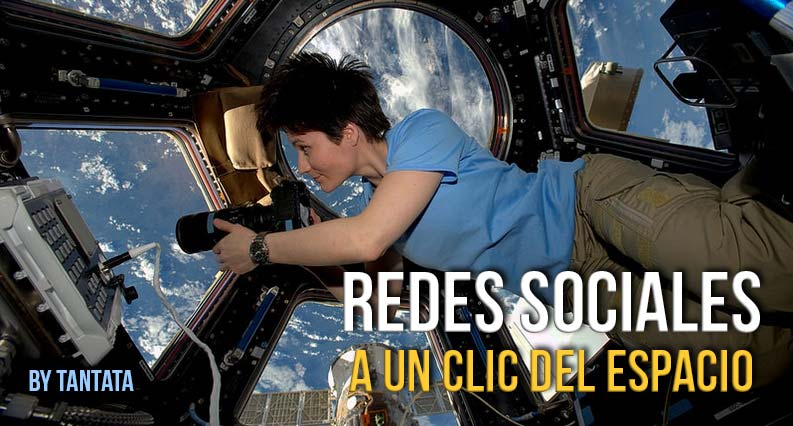 Redes Sociales, a un clic del espacio