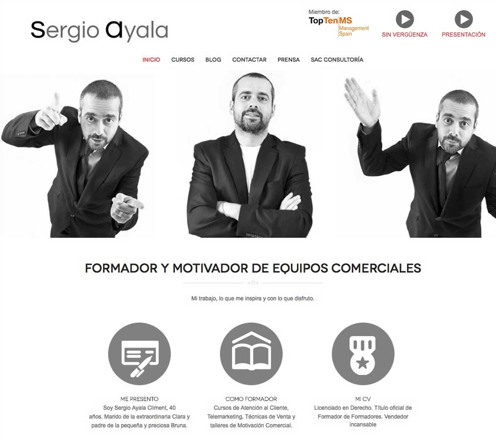Paginas web de marca personal, Blogs