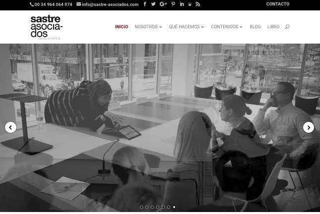 Páginas web para empresas de Consultoría