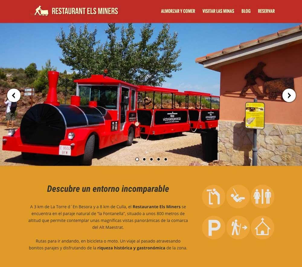 Páginas web para restaurantes