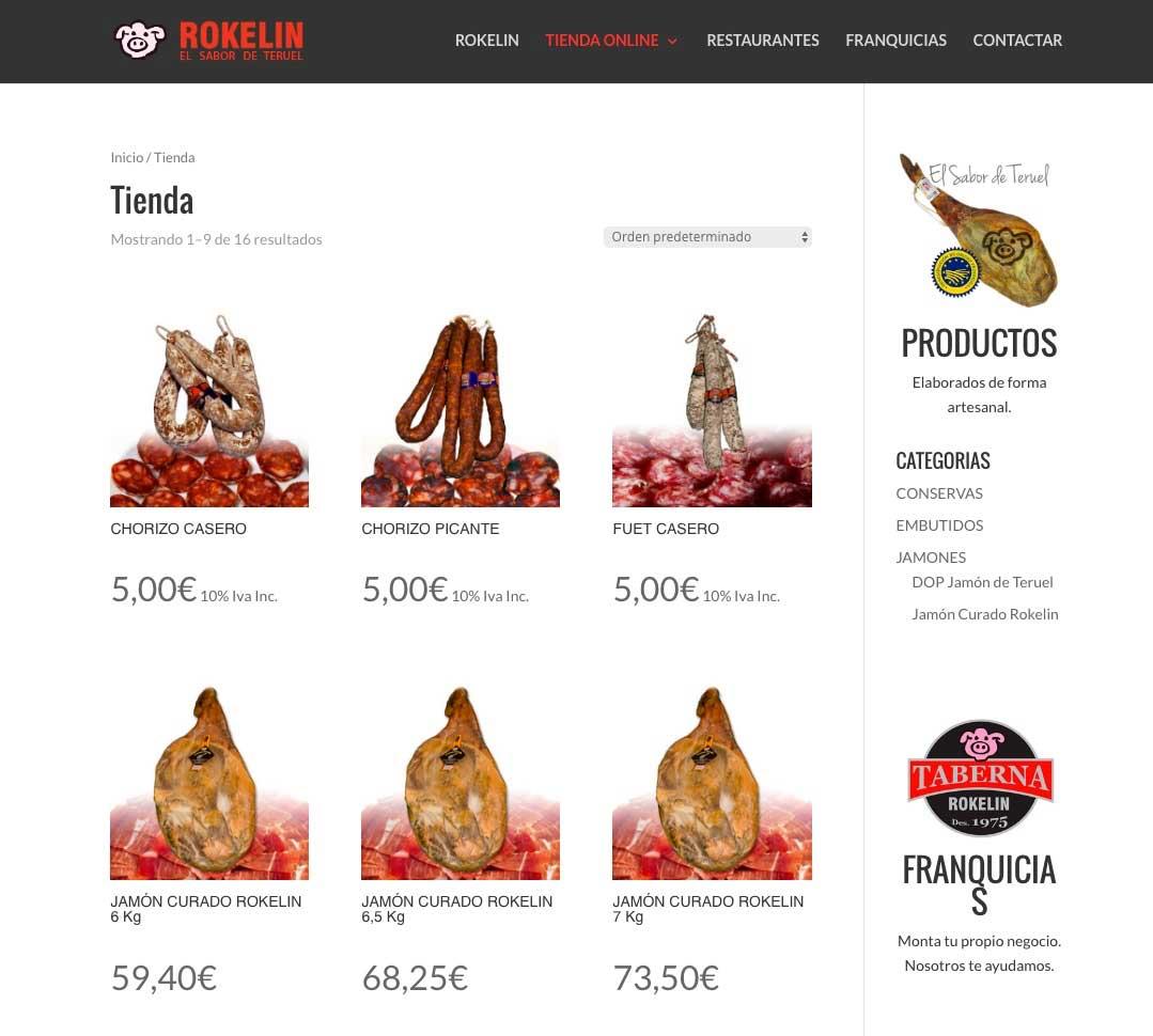 Diseño y mantenimiento de Tiendas Online