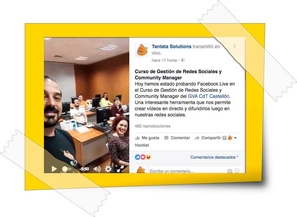 Publicar vídeos de Facebook en WordPress