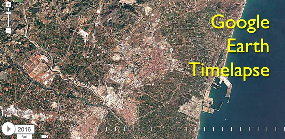 TimeLapse con Google Earth