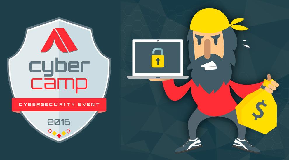 CYBERCAMP 2016: Seguridad en internet